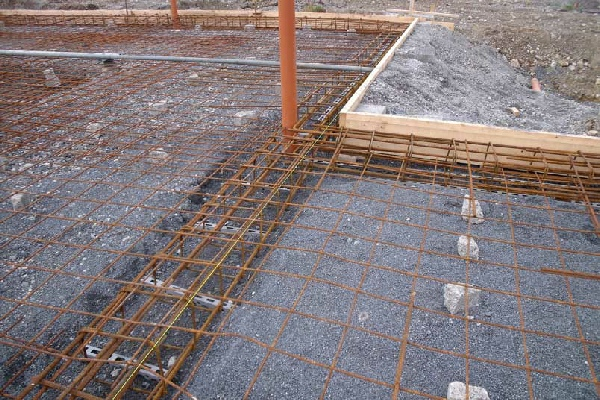 Pics for raft foundation construction for Slab foundation definition